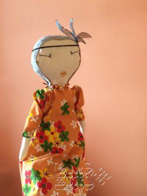 عروسک پارچه ای