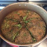 کوکو سبزی ناهار داوطلبانه