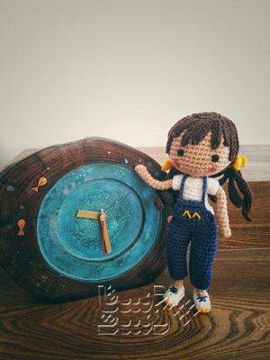 عروسک بافتنی مانیا