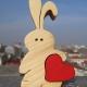 خرگوش چوبی